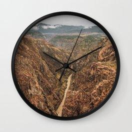 Royal Gorge Landscape Wall Clock