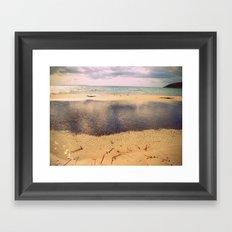 Profundidades Framed Art Print