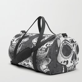 New skull allover pattern 1 Duffle Bag