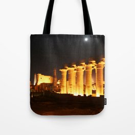 The night and the moon at Temple of Luxor, no. 29 Tote Bag