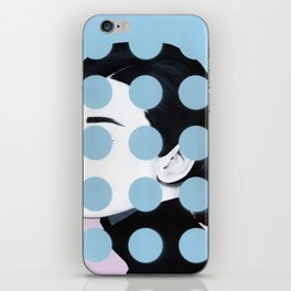 Audrey (Dots) by Famous When Dead iPhone Skin