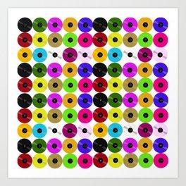 Vinyl- The Collector's Edition Art Print