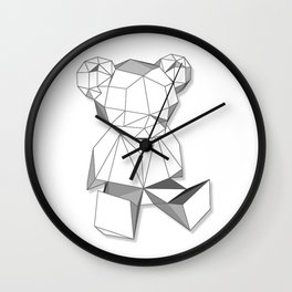 single bear  Wall Clock
