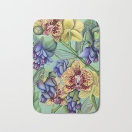 Lost Wing In Bloom Bath Mat