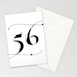Fifty Six Stationery Cards