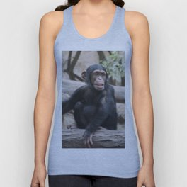 Young Chimpanzee 02 Unisex Tank Top