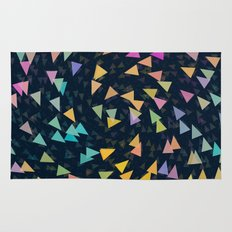 Spirling Triangles Rug