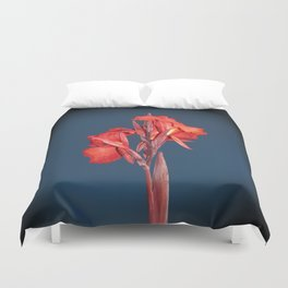 Canna Lily Duvet Cover