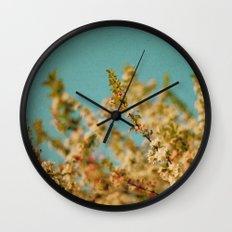 Darling Buds of May Wall Clock