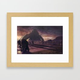 Cthulhu fhtagn no more Framed Art Print