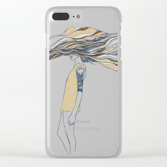 TRULY, DEEPLY IN LOVE Clear iPhone Case