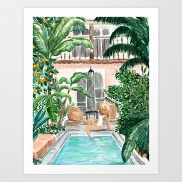 Moroccan Dream Art Print