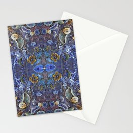 September Morning Glory Stationery Cards