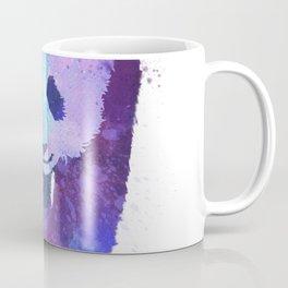 Watercolor Panda in Purple Coffee Mug