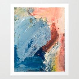 Painterly Abstract Art Print