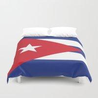 cuba Duvet Covers featuring Cuba Live by McGrathDesigns