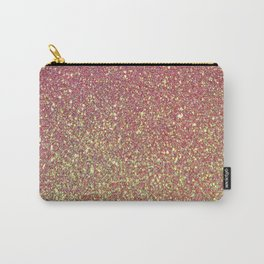 Soft Glitter Carry-All Pouch