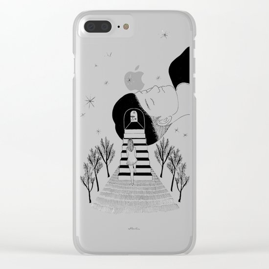 Into Your Dream Clear iPhone Case