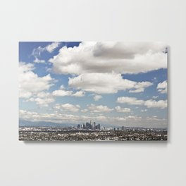 Los Angeles Cityscape Metal Print