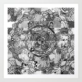 Tibetan Crest Art Print