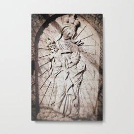 Mary & Jesus Metal Print