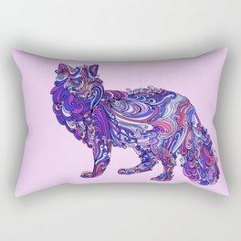 Fox by Night Rectangular Pillow