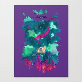 Life Aquatic Canvas Print
