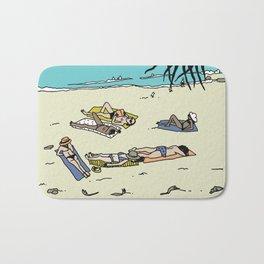 Byron Bay Sun Bathers Bath Mat