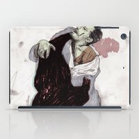 fight iPad Cases featuring Fight. by Augustus
