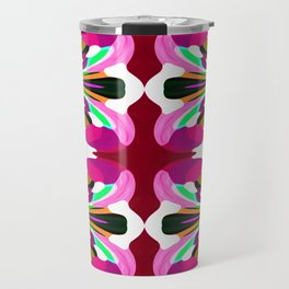 Pink Fusion - Painting Within The Lines Collection Travel Mug