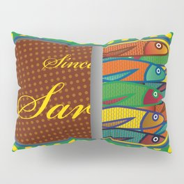 Pop art: Sardines Pillow Sham