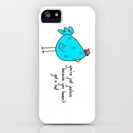 Sassy Bird iPhone Case