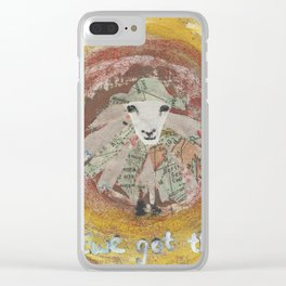 Ewe Got This Clear iPhone Case