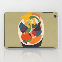 wooden iPad Cases featuring Fruits in wooden bowl by Picomodi