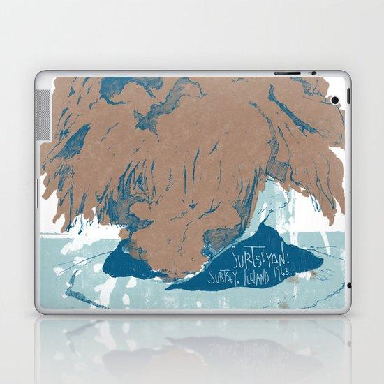 Surtseyan Volcanic Eruption Laptop & iPad Skin
