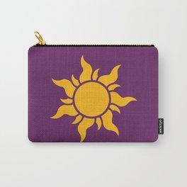 Tangled Rapunzel Sun Logo - Corona Symbol Carry-All Pouch
