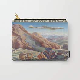 Vintage poster - Peru Carry-All Pouch