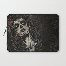 Day of The Dead Woman Laptop Sleeve