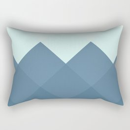 Where the Ocean Meets the Sky Rectangular Pillow