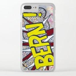 Bern! Clear iPhone Case