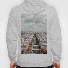 Paris France Cityscape (Color) Hoody