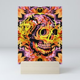 Skull V Mini Art Print