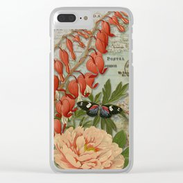 Enchanted Garden 1 Clear iPhone Case