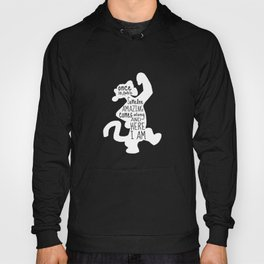 Once in awhile Someone Amazing comes along and Here I Am - Winnie the Pooh inspired Print Hoody