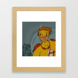 Kind of a Quiet Night... Framed Art Print