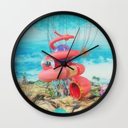 Microcosmos Wall Clock