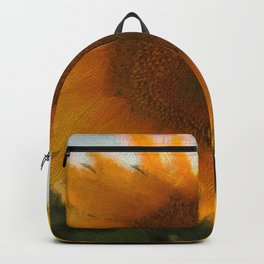 love yellow Backpack