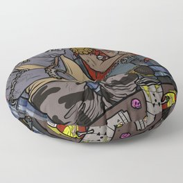 BEBOP & ROCKSTEADY HOTBOX Floor Pillow