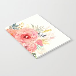 Pink Flower Bouquet Notebook