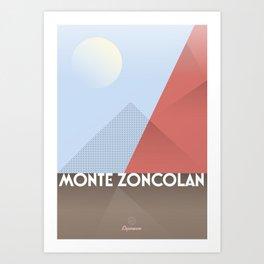 Monte Zoncolan / Cycling Art Print